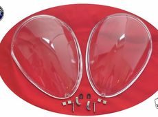Frontal Faro Covers Set Spider Alfa Romeo 105/115 66-93 Plexi Glass Nuevo