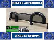 ROADSTER BARS ROLL BAR DELUXE BLACK EDITION Toyota MR2 W3 With Wind Deflector