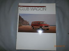 Ford  Club Wagon US Prospekt Broschüre Brochure 1993