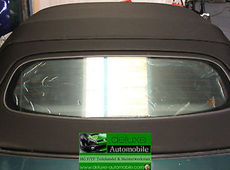 MG MGF & TF Hood Roof Convertible Soft Top with Glass Plate NEW incl.