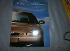 Mercury Sable US Prospekt Broschüre Brochure 1997