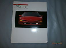 Ford Probe US Prospekt Broschüre Brochure 1993