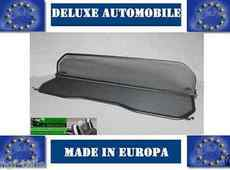 cabriolet WIND DEFLECTOR MERCEDES SE280 W111 Black Neu 1961 bis 1971 Warranty