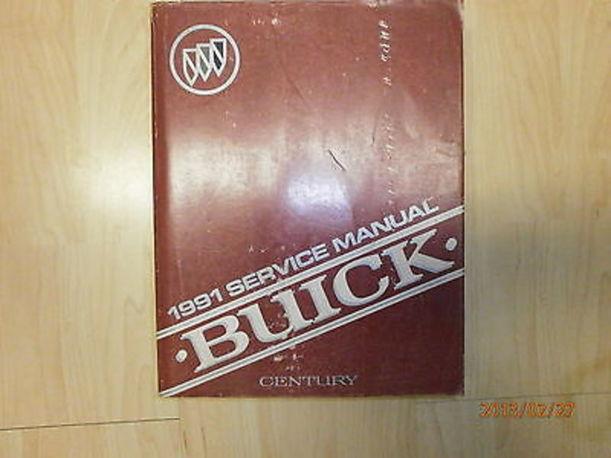 Handbücher | Buick Century Service Manual / Werkstattbuch 1991 ...