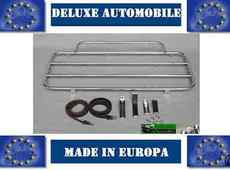 Luggage Rack Mazda MX5 Well Year 1989 bis 1998 Stainless Steel New With Straps