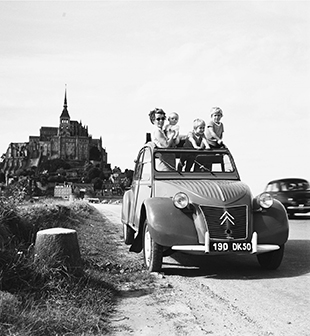 "Citroen 2 CV ""Ente"" ab 1946  Foto: Citroen Communication/Georges Guyot"